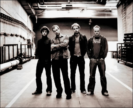 British rock group Coldplay have revealed that their new album will